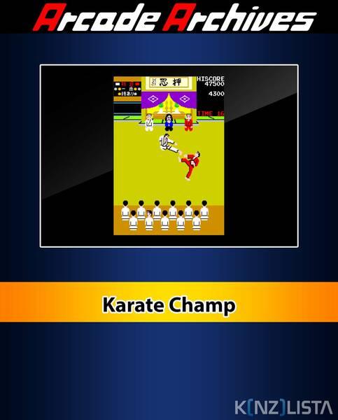 Arcade Archives Karate Champ